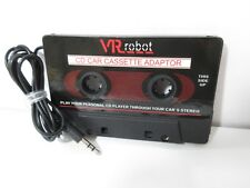 Vr Robot Car Cassette Adapter, New, Free Shipping!