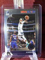 2019-20 Panini NBA Hoops Premium Stock Ja Morant RC Rookie Base Card #259