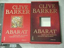 Buch Hardcover gebunden Clive Barker Abarat Schuber nummeriert limitiert TOP