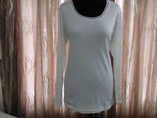 Ladies  Long Sleeve vest Top  Superior Quality Brushed inside