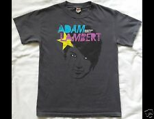 ADAM LAMBERT Size Small Gray T-Shirt