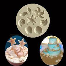 gebäck - tool fondant backen. silikon - form kuchen dekorieren conch–muscheln