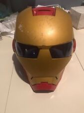 2010 Collectible Marvel IRON MAN DELUXE HELMET Electronic Costume Ironman Mask