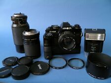 Minolta X700 Outfit With 3 Lenses, Motor Drive, Flash