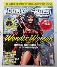 COMIC HEROES 130 Page Guide WONDER WOMAN Dr Strange WARHAMMER History Of DOOM