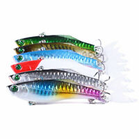 6PCS 8cm/22.5g Trolling Bait Swimbait Fishing Lure Bass Crankbait Tackle Wobbler
