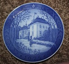 1975 Marselisborg Slot Plate - The Queen's Christmas Residence