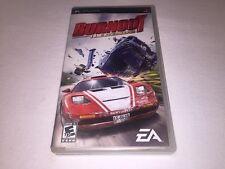 Burnout Legends (Playstation PSP) Original Release Complete Excellent!