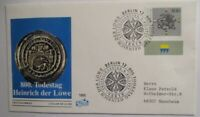 History, Heinrich the Lion, Herzog By Saxony Bavaria, FDC 1995 (22892)