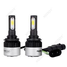 Nighteye 9006 HB4 LED Headlights Kit Single Beam Bulbs Globes vs Halogen Xenon