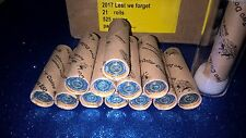 2017 $2 ''LEST WE FORGET''  ROYAL AUSTRALIAN MINT COIN ROLL LIMITED EDITION