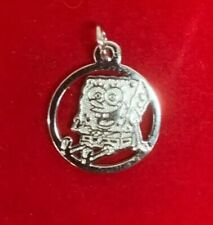 Sterling Silver 925 Marked Spongebob Squarepants Pendant Jewelry