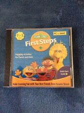 Sesame Street First Steps [Old Version] [CD-ROM] Windows Vista / Mac / Window...