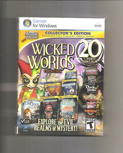 Wicked Worlds Collection: Collector's Edition (PC, 2013) New & Sealed