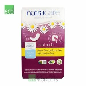 Natracare Organic Cotton Maxi Pads