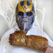 Avengers Infinity War Thanos Infinity Gauntlet Gloves Cup Cosplay Prop Cool UK