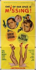 MAN FROM UNCLE ONE OF OUR SPIES IS MISSING 3 sheet movie poster 41x81 RARE