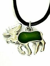 NEW Moose Elk Color Change Heat Thermo Mood Pendant Necklace