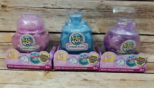 3 Pikmi Pops Surprise Cheeki Puffs Scented Shimmer Puff