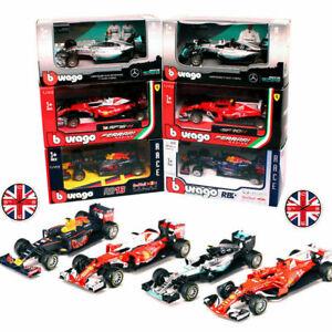 HAMILTON LECLERC VERSTAPPEN 1:43 Scale F1 Model Die Cast Miniature Toy Car