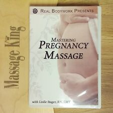 Mastering Pregnancy Massage professional massage educational DVD -New- 3 hours