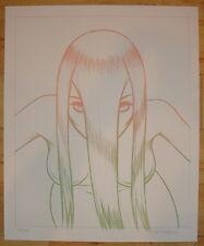 2009 From the Abyss - Silkscreen Art Print S/N by Tara McPherson
