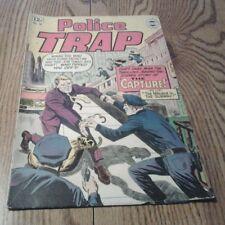 COMIC BOOK POLICE TRAP NO. 16 SUPER COMICS REPRINTED IN U,S.A. 1964