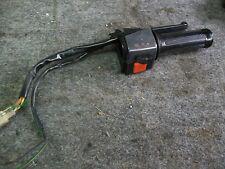 commodo et levier de frein droit peugeot SC80