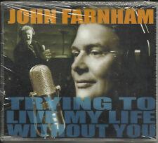 Little River Band JOHN FARNHAM Trying to Live w/ UNRELEASE TRK CD Single SEALED
