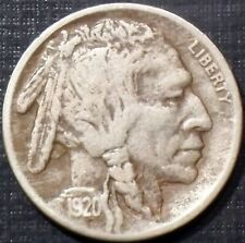 KEY DATE 1920-S BUFFALO NICKEL FULL DATE + WITH HORN HIGH GRADE QUALITY COIN WOW