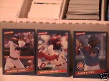 1985-1986-1987 Donruss Baseball pick 35 comp. your set ex nm