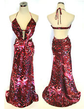 NWT WINDSOR $100 RED / Black Evening Ball Party Gown 11