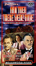 And Then There Were None (VHS, 1999)