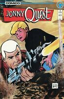 Jonny Quest #1 Comico Comics 1986 High Grade Copy - Pressed
