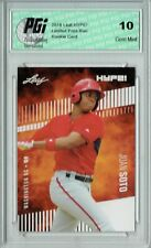 Juan Soto 2018 Leaf Hype #15 Only 5000 Made Rookie Card PGI 10