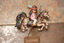Goebel W.Germany De Grazia 1990 Merry Little Indian Collectible Ornament