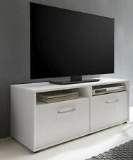 Wilmes: Lowboard Fernsehkommode Fernsehtisch TV-Kommode Fernsehboard - Weiß