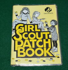 VINTAGE GIRL SCOUT PATCH BOOK