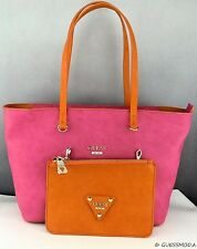New Stylish 100% Original Handbag GUESS Satchel Audrey Ladies BERRY MULTI Bag