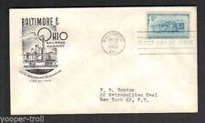Handstamped US First Day Covers (1951-1960)