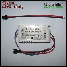 Constant Current LED Driver Mains Power Supply for High Power 3W and 20W Chips