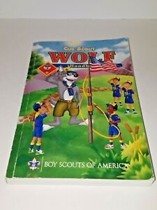 Cub Scout Wolf Handbook 2005 Printing with Child Abuse Protection Guide Included