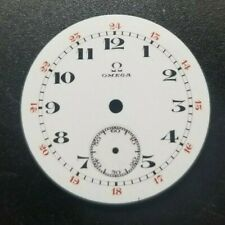 Omega porcelain watch dial 3-0s, 27.13mm (345)