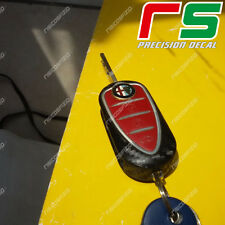 Alfa Romeo Mito Giulietta 4C ADESIVI sticker decal cover key chiave carbon look