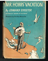 Mr. Hobbs Vacation by Edward Streeter 1954 Stated 1st Ed Vintage Book!