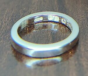Vintage Tiffany & Co Sterling Silver Band ( T & Co ) Ring Made In England Size 8