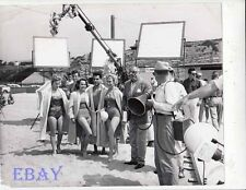 Barbara Eden bathing suit, Terry Moore VINTAGE Photo A Private's Affair