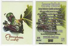 2015 Cult Stuff Sci-Fi Jeremy Bulloch Gold Autograph Card Star Wars Boba Fett