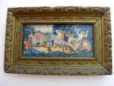 FIRST 1900 PAINTING - THE KING OF THE FOREST WITH NYMPHS AND FAUNS