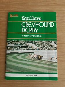 1979 GREYHOUND DERBY - SARAH'S BUNNY
